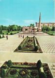 CAREI - MONUMENTUL OSTASULUI ROMAN - CARTE POSTALA - CIRCULATA