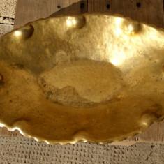 Fructiera veche  bronz, alama, marcaj AD