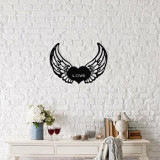 Cumpara ieftin Decoratiune pentru perete, Ocean, metal 100 procente, 48 x 38 cm, 874OCN1002, Negru