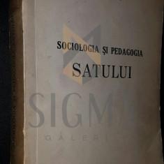 SOCIOLOGIA SI PEDAGOGIA SATULUI - STANCIU STOIAN