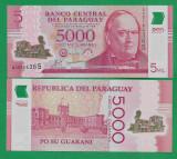 = PARAGUAY - 5000 GUARANIES – 2011 - POLYMER - UNC  =