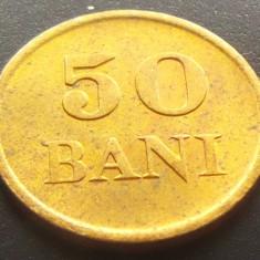Moneda ISTORICA 50 BANI - ROMANIA REGAT, anul 1947  *cod 3823 = UNC SACULET BNR