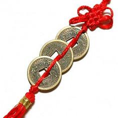 Trei monede cu nod mistic