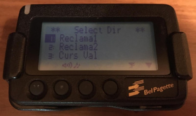 Pager NEC Bel Pagette, Functional foto