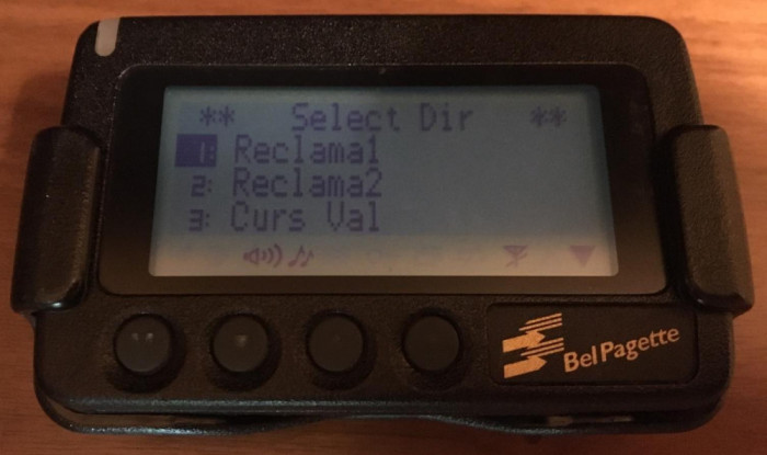 Pager NEC Bel Pagette, Functional