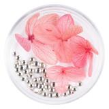 Cumpara ieftin Flori Uscate Unghii LUXORISE cu cristale - Floral Fairytale #01