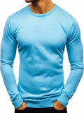 Pulover bărbați albastru Bolf 2300