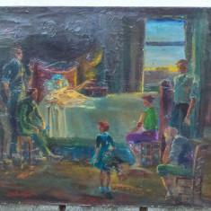 Ipolit strambu - Pictura veche, Scene gen, Ulei, Realism