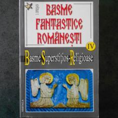 I. OPRISAN - BASME FANTASTICE ROMANESTI. BASME SUPERSTITIOS-RELIGIOASE