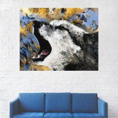 Tablou Canvas, Portret Lupu - 40 x 50 cm