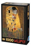 Puzzle 1000 Gustav Klimt - The Kiss (66923-02)