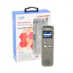 Resigilat : Reportofon audio video PNI RedStone audio stereo, video 1080P, card mi