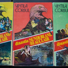 Vintilă Corbul - Dinastia Sunderland-Beauclair. Idolii de aur (3 vol.)