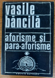 Aforisme și para-aforisme, Vasile Băncilă, 3 volume