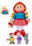 Set Papusa si marionete Scufita Rosie Red Riding Hood - Fiesta Crafts