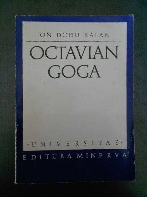 Ion Dodu Balan - Octavian Goga