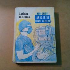 NOUL GHID DE ANESTEZIE TERAPIE INTENSIVA - I. Cristea, M. Ciobanu -1992, 895 p.
