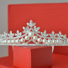 Diadema / Tiara mireasa Gorgeous Pearls