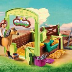 Playmobil Spirit - Spatiu ingrijire cai - Lucky & Spirit