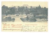 4996 - SIBIU, Park, Litho, Romania - old postcard - used - 1899, Circulata, Printata