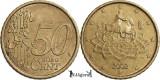 2002 R, 50 euro cent ( 1st map ) - Italia, Europa
