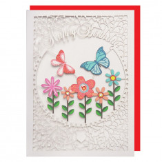 Felicitare - Butterfly Flowers | Alljoy Design
