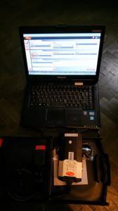 Kit Diagnoza Auto Delphi2 DS150E 2016 + Laptop Militar Panasonic CF53 i5 500Gb