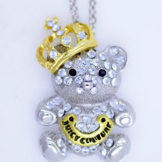 Colier fashion cu pandant King Bear