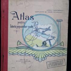 ATLAS PENTRU ISTORIA POPOARELOR VECHI, ED. III, VASILE DIMITRESCU SI ANDREI NITULESCU - BUCURESTI, 1927
