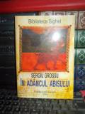 SERGIU GROSSU - IN ADANCUL ABISULUI ( BIBLIOTECA SIGHET ) , 2004