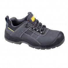 Pantofi piele velur Lahti Pro, brant detasabil, marimea 39