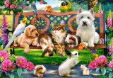 Puzzle Castorland - Pets in the Park 1.000 piese (104406)