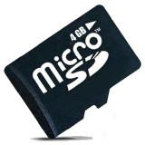 Cumpara ieftin Card de memorie MicroSDHC 4GB Class 6 + Adaptor SD Cadou