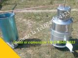 Instalatie completa pt Tuica.Cazan de Inox de 60 de lt+Accesori, Zoffoli