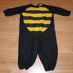 Costum carnaval serbare albinuta albina bondar pentru copii de 1-2 ani, Din imagine