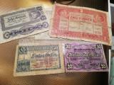 50 HELLER 1919+20 HELLER 1920 +CADOU 10 KRONEN 1922,2 KRONEN 1917,500,5000 LEI