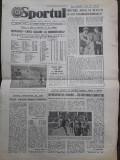 Ziarul Sportul din 17 noiembrie 1986