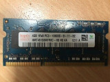 Memorie Laptop Hynix 4GB DDR3 PC3-10600S 1333Mhz