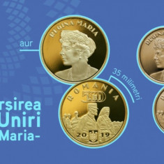 Romania, 50 bani proof, Regina Maria