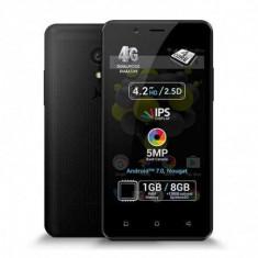 Telefon mobil Allview P4 Quad, 1GB RAM, 8GB ROM, Android 7.0, Quad Core, Dual Sim, Split Screen