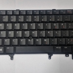 Tastatura laptop noua DELL LATITUDE E5420 E5430 E6320 E6330 E6420 Black English-French with point stick DP/N TP2TV