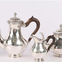Serviciu de ceai/cafea din argint