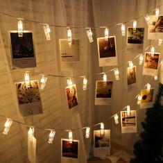 Lumini fotografii, 1 metru, 10 leduri, model carlige