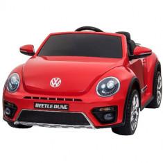 Masinuta Electrica Volkswagen Beetle Dune Red
