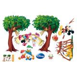 Cumpara ieftin Sticker decorativ perete Giftify Happy Picnic cu desene animate pentru camera copiilor