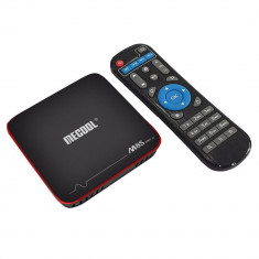 TV Box Mecool M8S Pro W Amlogic Android 7.1.1, 4K, Quad-Core, 2GB RAM, 16GB ROM, Miracast, Airplay, Google Play, Kodi 17.0