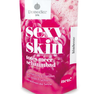 Spumant de Baie DermaSel SPA Sexy Skin cu Aroma de Zmeura 45 ml