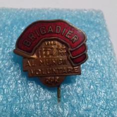 insigna  Brigadier al Muncii voluntare  1948
