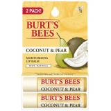 Twin Pack Balsam de buze Cocos si Pere 2 x 4,5 gr, Burt's Bees