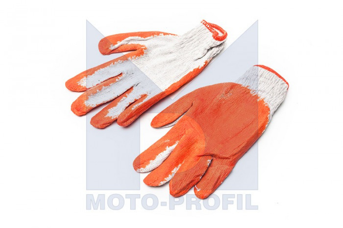 Manusi de protectie sintetice Amtra, alb/ orange Kft Auto